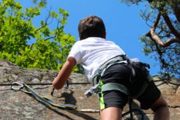 accrobranche enfants via ferrata saint-nectaire aventure enfants