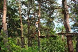 accrobranche pont de singe saint-nectaire aventure enfants